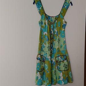 Free People sz small silk dress
